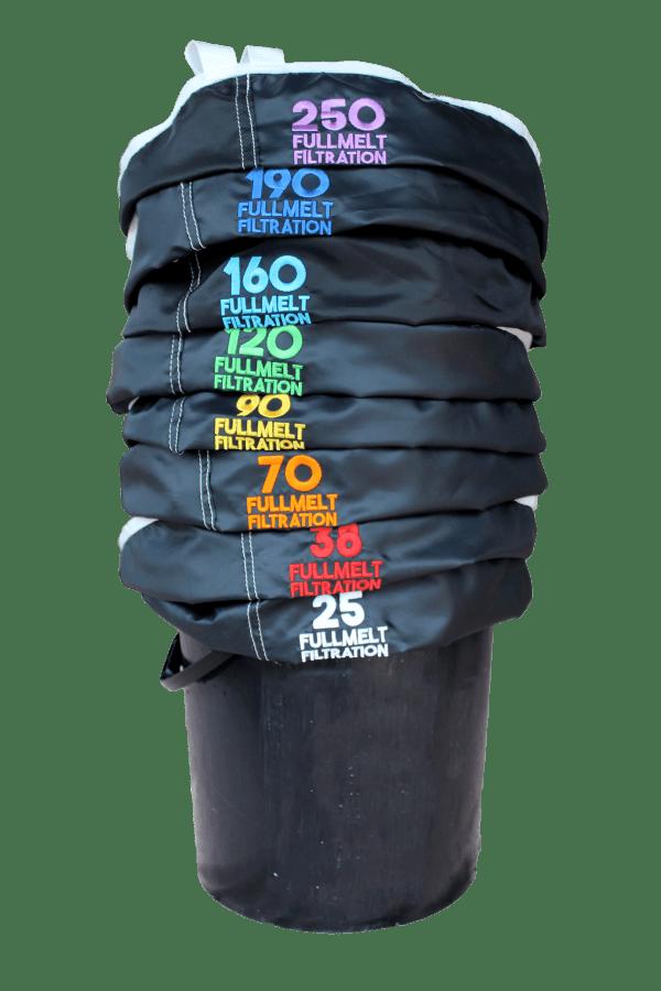 FullMelt Filtration Bubble Hash Bags – Sets